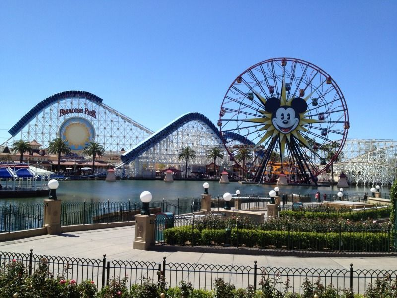 Tour des parcs d'attractions en Californie, USA