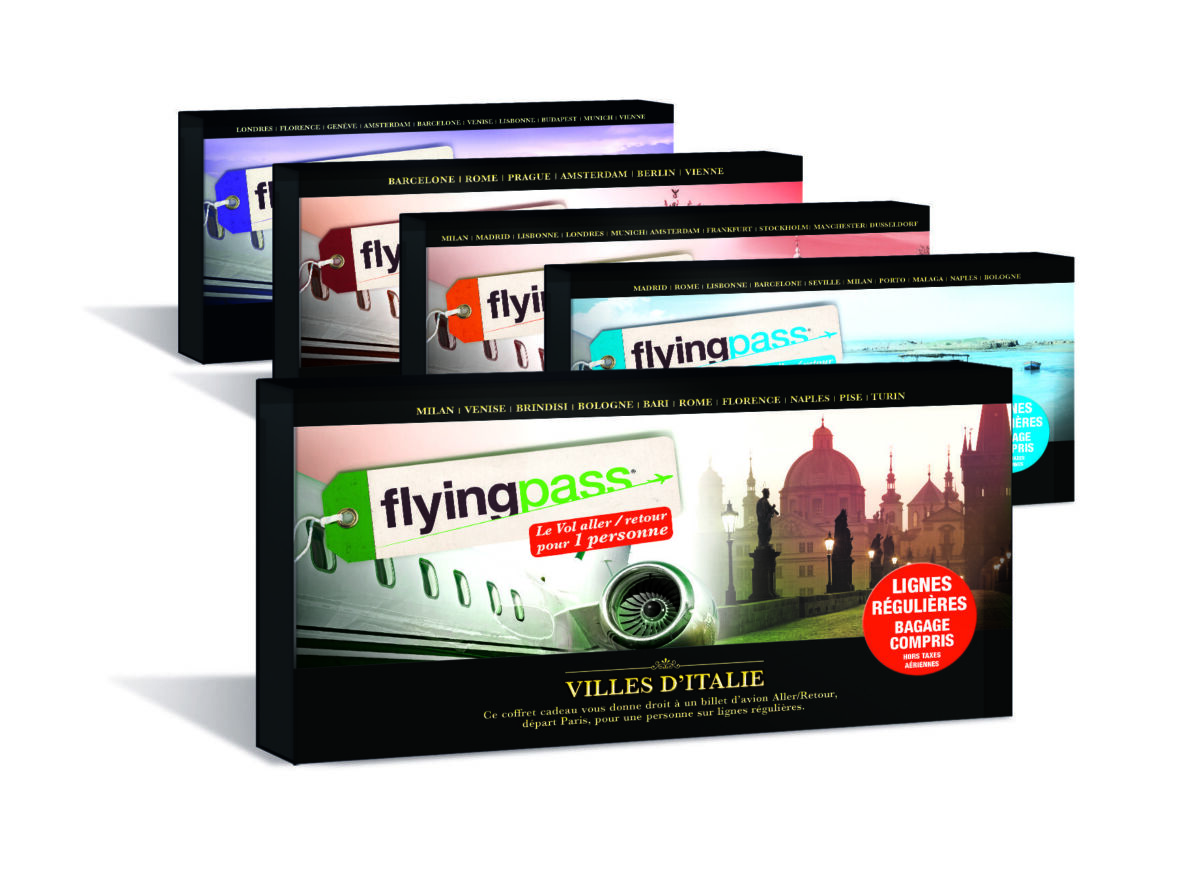 Coffret cadeau Flying Pass